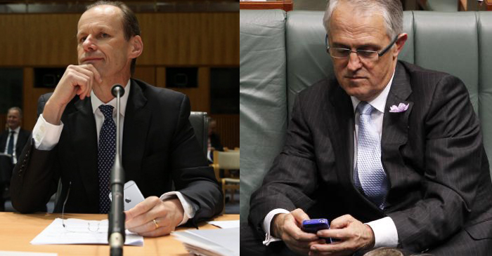 "ANZ Chief Executive Texts Turnbull During Bank Enquiry: ""u set me up u fkn dog"""