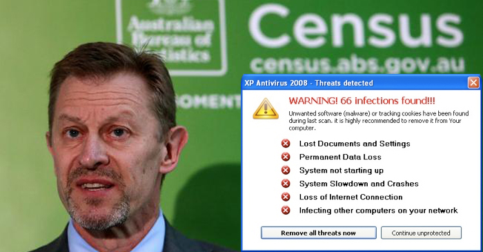 ABS Chief Blames Census Crash On His Bloody Kids Downloading Viruses On Family Desktop