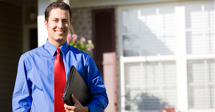 Local Real Estate Agent Says He's Exhausted After Big Week Of Smiling And Opening Doors