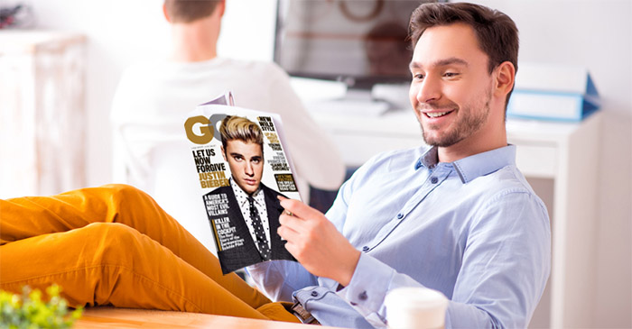 Overly polite fuckboy renews subscription to GQ magazine