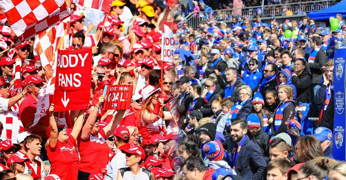 Over 100 000 bandwagon fans descend on the MCG for the AFL Grand Final