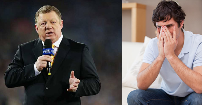 SportsBet offer $2.30 odds that Phil Gould's prematch monologue won't make sense once again