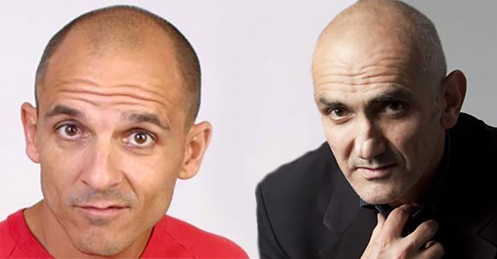 Carl Barron wins 17th annual Paul Kelly look-a-like contest in Hobart