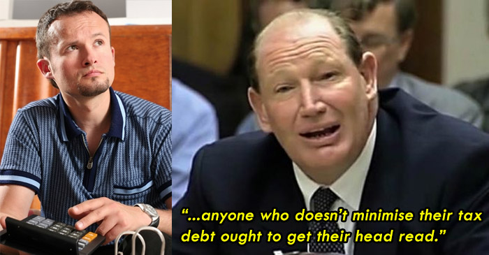 Local bloke salutes Kerry Packer as he minimises tax with dubious deductions
