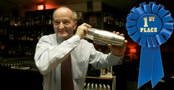 Parkinson's Sufferer Makes World's Best Cocktail
