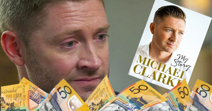 Michael Clarke lives up to his nickname after dogging teammates on 60 Minutes