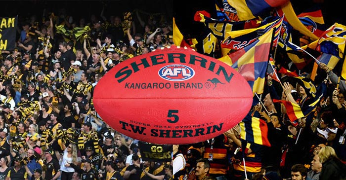 100 000 Bandwagon Fans Descend On The MCG For The AFL Grand Final