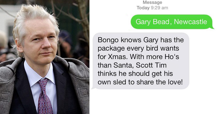 BONGO KNOWS Revealed To Be Wikileaks Founder, Julian Assange