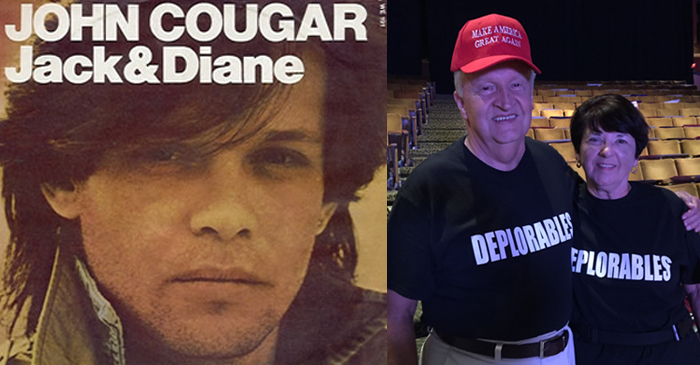 John Mellencamp's 'Jack And Diane' Now Obese And Unemployed Trump Voters