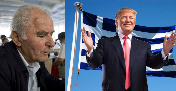 Local Papou Says Greece Has Needed Their Own Donald Trump For A While Now