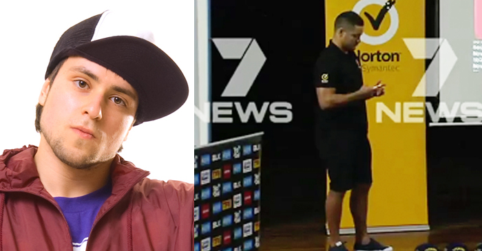 Robina High Schooler Hardly Impressed By Jarryd Hayne's 'Vanilla' Search History