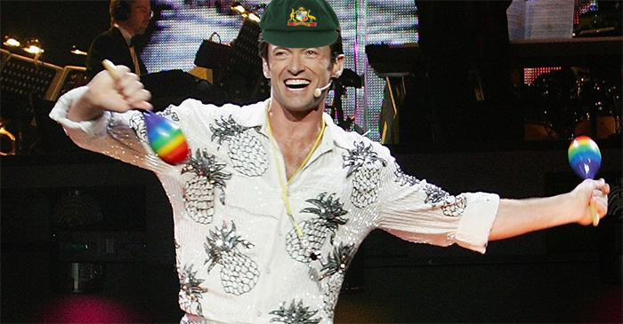 Hugh Jackman flown down to Hobart to begin rain dance