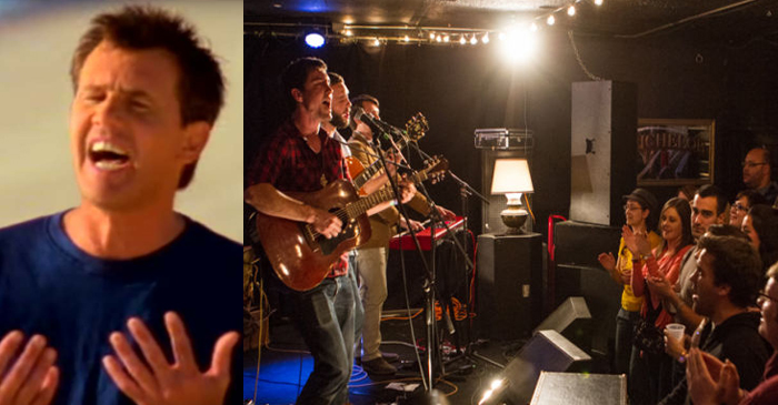 Exhausted Live Band Forced To Sing 8th Consecutive Rendition Of 'The Horses'