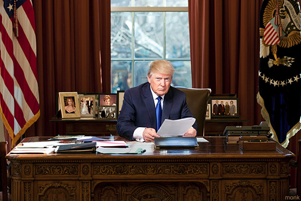 Donald J. Trump Elected As Last President Of The United States Of America