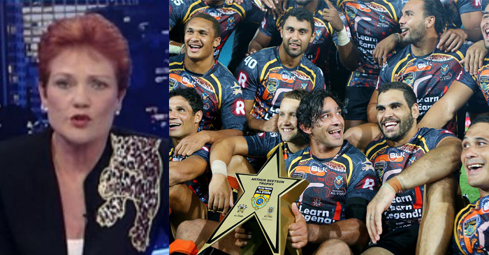 Indigenous All Stars Team To Be Renamed 'Undefinable Race Of Generally Better Footballers'