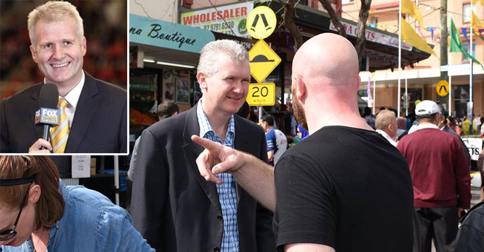 Majority Of Tony Burke's Public Appearances Spent Explaining That He Isn't Andrew Gaze