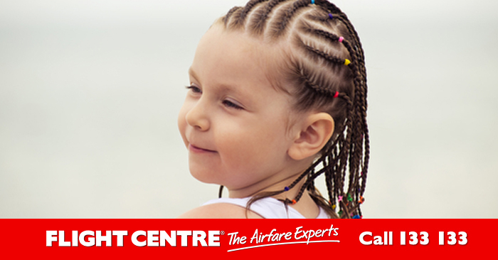 Flight Centre's New Family Package To Bali Includes Cheap Braids For Bratty Daughters