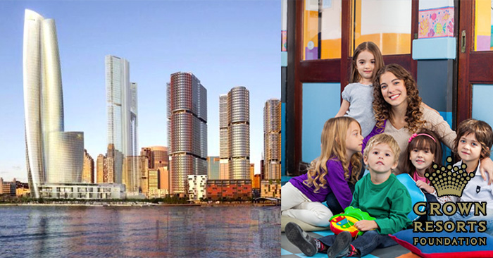 Free Daycare Centre included in Sydney's Crown Casino development