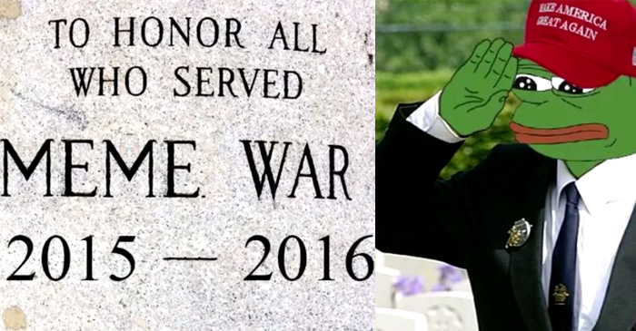 Veterans of the Great Meme War now eligible to join their local RSL branch