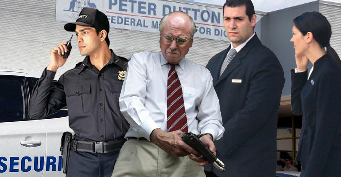 John Howard Apprehended Outside Peter Dutton's Office Attempting To Save LNP