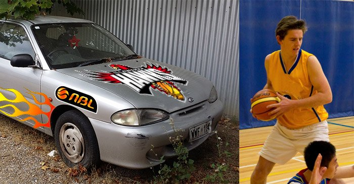 Basketballer buys 1997 Hyundai Excel after signing lucrative NBL contract