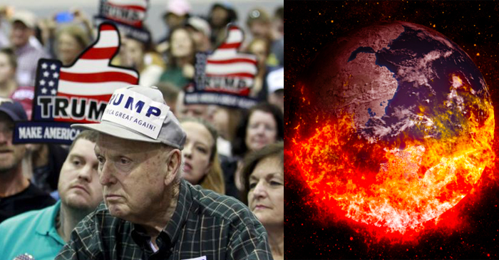 Report: Trump Voters Feel Ignored By Political System, Secretly Want To Watch World Burn