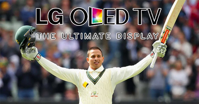 Khawaja: 'I was seeing them all day like they were on an OLED television'
