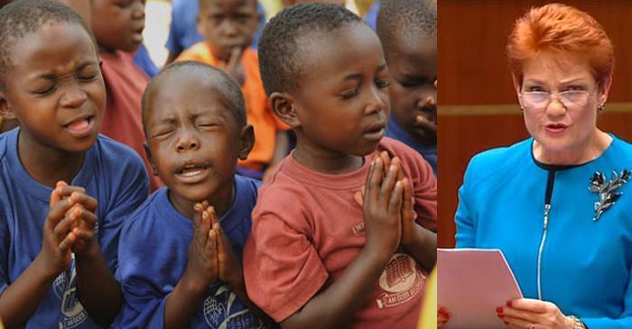 African-Australian Community Praying That Pauline Doesn't Turn On Them Next