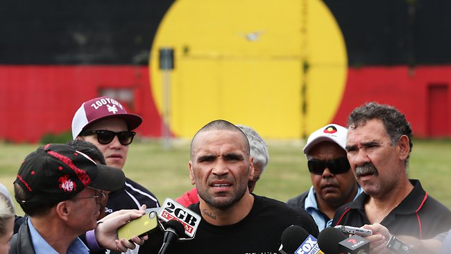 Mundine Pulls Out Of Fight After Being Called 'UnAustralian' By Daily Telegraph Readers