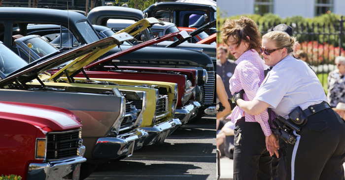 Tracy Grimshaw Apprehended For Cutting Brakes At Car Show In Effort To Stop Hoons