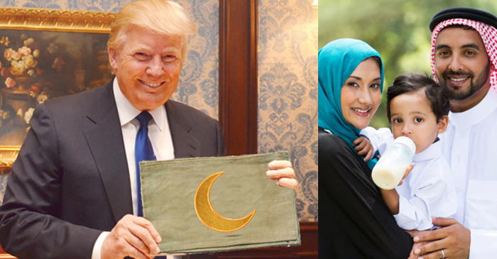 "Trump: ""Muslim Families Have Nothing To Worry About, If They Are Wearing Armbands"""