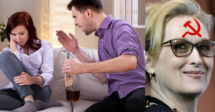 Habitual drink driver explains to wife how Meryl Streep is a communist