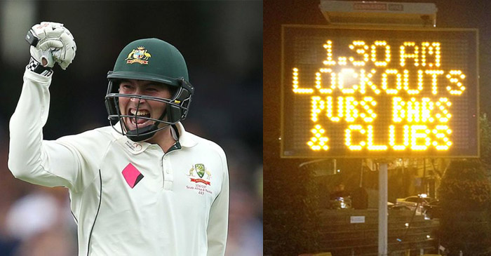 Matt Renshaw reveals his maiden Test century celebrations were dampened by Sydney's LockOut™ laws