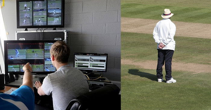 Shock as square leg umpire makes his own decision regarding tight run out