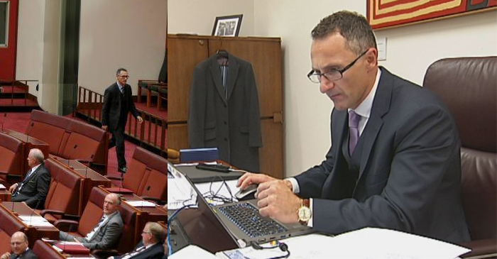 Richard Di Natale Takes Early Mark From The Senate To Reserve Tickets For Burning Man 2017