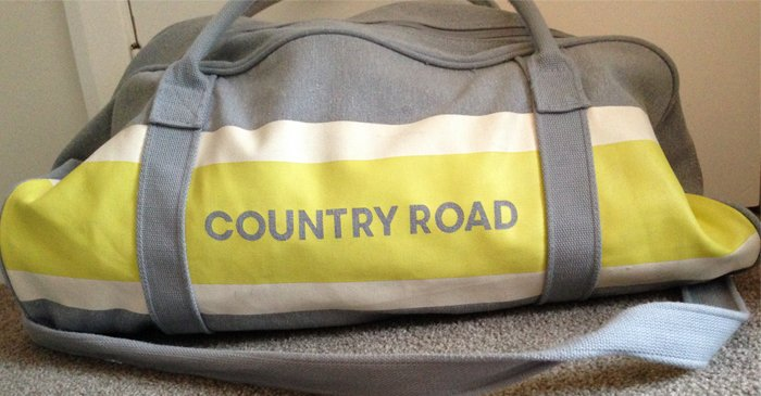 Unattended Country Road Bag At House Party Definitely Worth Rummaging Through