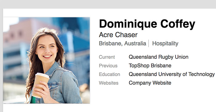 Brisbane professional controversially lists full-time occupation as 'acre chaser'
