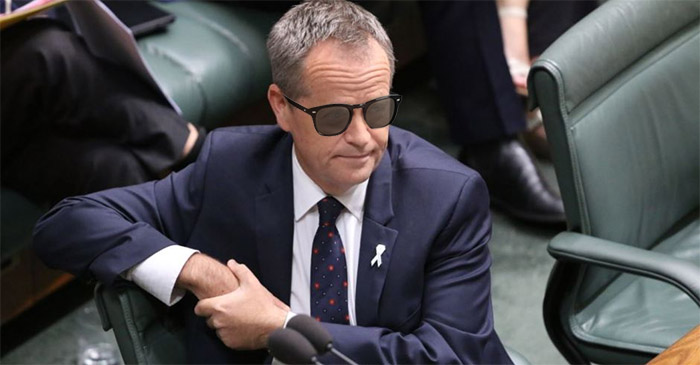 Bill Shorten attempts to cultivate new 'bad boy' image by wearing Bailey Nelsons inside parliament