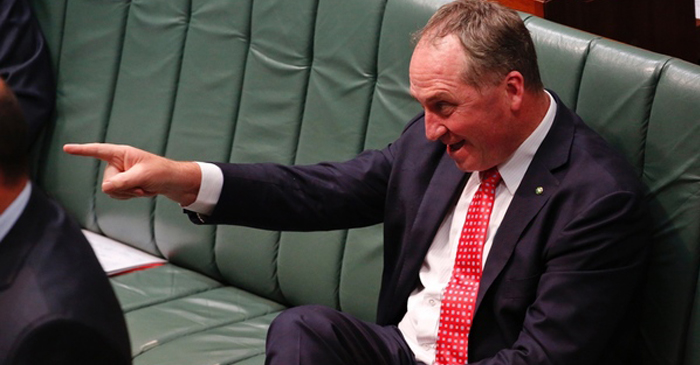 Joyce Propositions Albanese To 'Run It Straight' During Parliament Question Time