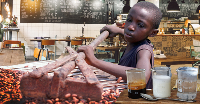 Melbourne Cafe's Cool New Deconstructed Coffee Includes African Child Labourer