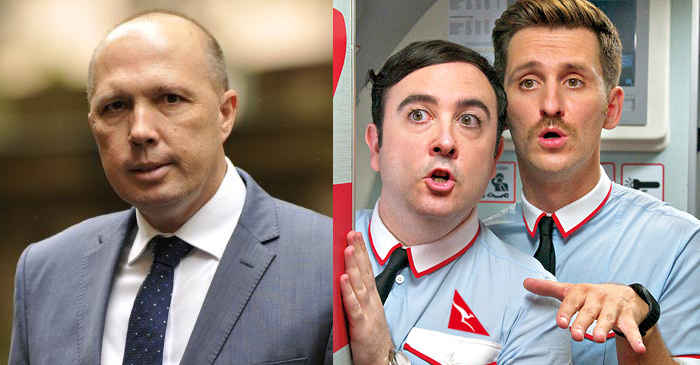Dutton Criticises Largest Employer Of Male Flight Attendants For Supporting Gay Marriage