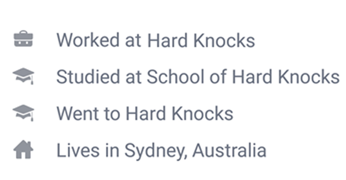 Report: Majority Of People Who Care About 18C Attended 'School Of Hard Knocks'