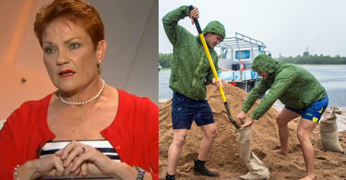 Pauline Advises North Queenslanders Do Their Own Research On Cyclone Preparation