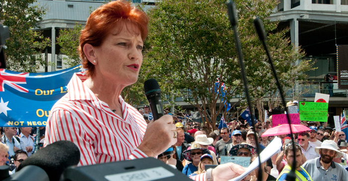 Pauline Promises Voters That She'll Never Address Political Issues They Don't Understand