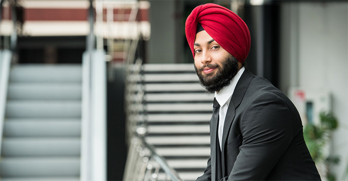 Young Sikh Man Looking Forward To Another Year Of Being Racially Profiled At Airports And Other Public Buildings