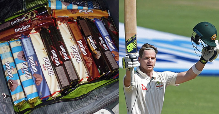 Steve Smith staying healthy in India by keeping to a strict diet of Tim Tams