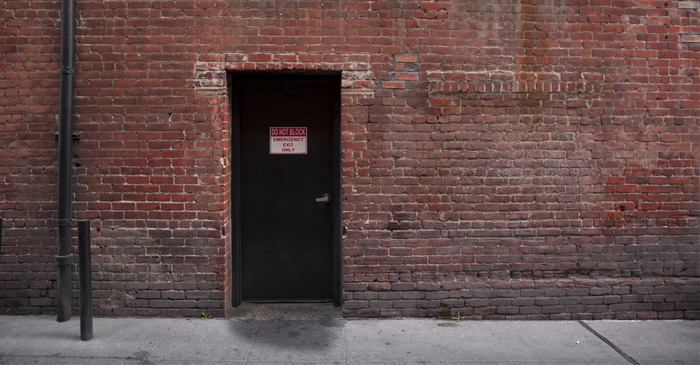 Slightly Sheltered Fire Exit Sold For $1.2 Million At Sydney Auction