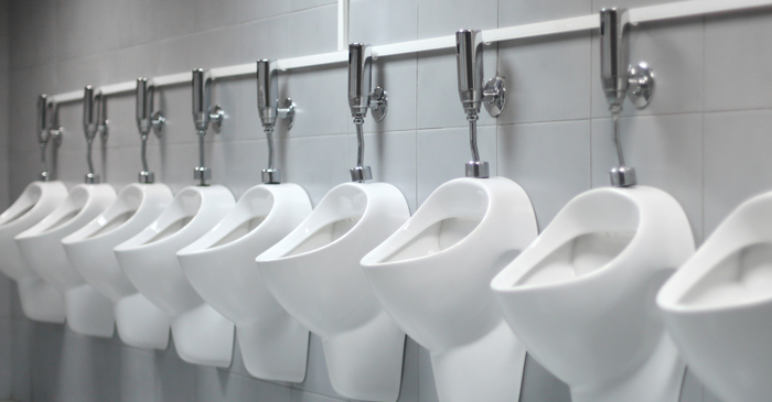 Urinals At 2017 Logie Awards Left Empty As Guests Line Up To Share Cubicles