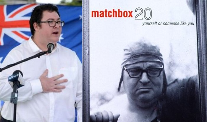 George Christensen Admits To Being The Face Of Matchbox 20's 1996 Breakthrough Album