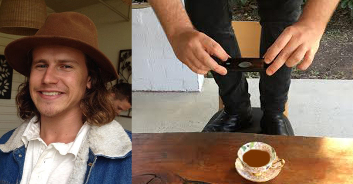 Bloke Who Stands On Cafe Chairs To Photograph Coffee Ashamed Of Australian Culture